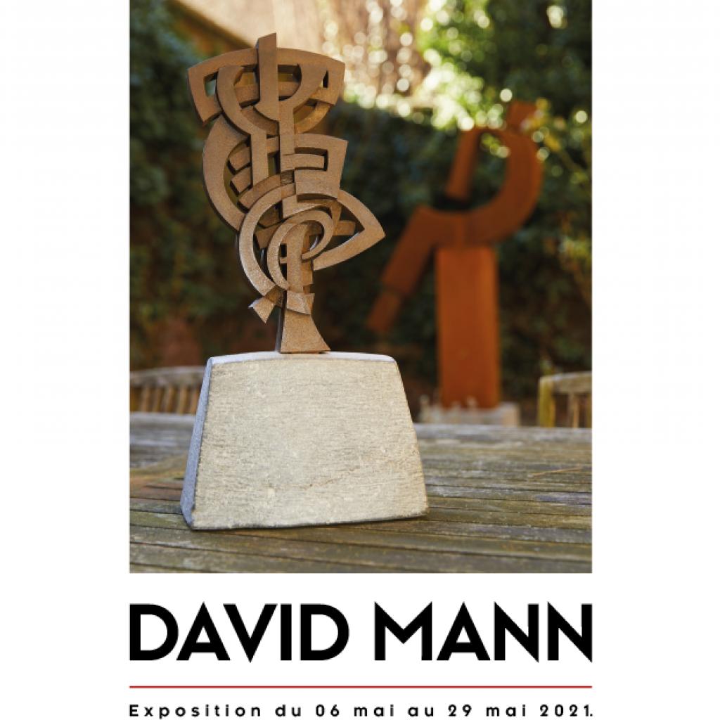 Exposition de sculptures David Mann à la galerie ABC&Design à Verviers