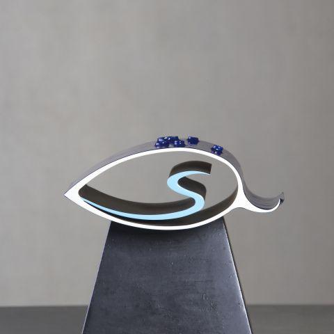 sculpture création david mann couleurs