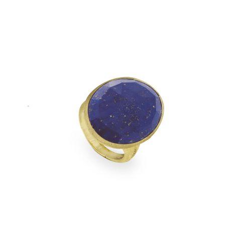 Bague Marco Bicego Lunaria en or jaune et lapis-lazuli