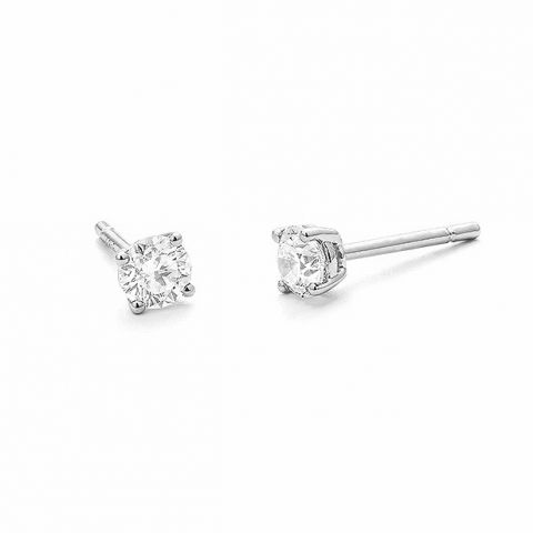 Boucles d'oreilles en diamants 1 carat