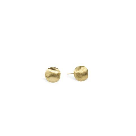 Boucles d'oreilles Marco Bicego Africa en or jaune guilloché