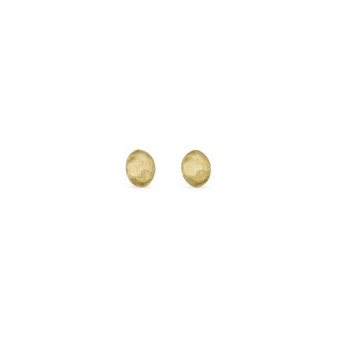 Boucles d'oreilles Marco Bicego Siviglia 1 motif or jaune guilloché