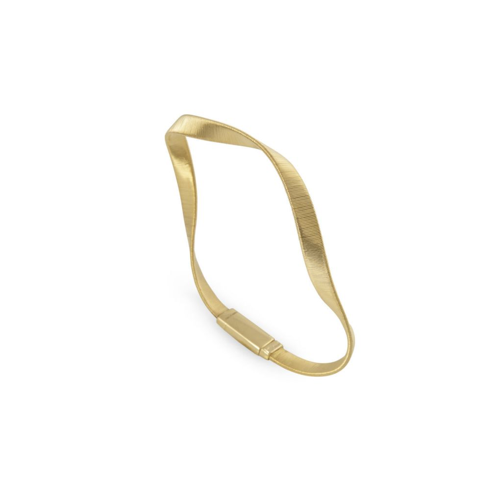 Bracelet Marco Bicego Marrakech Suprême torsadé en or jaune