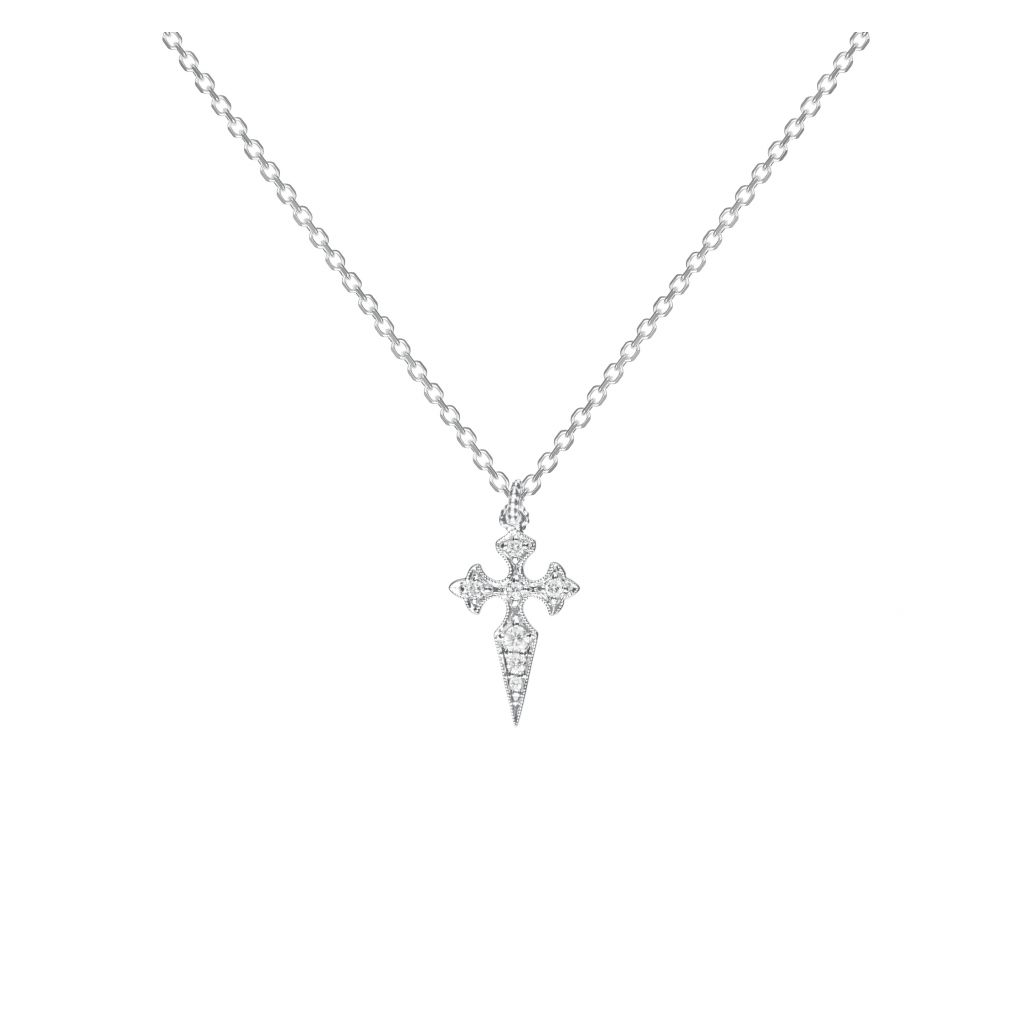 Collier Stone Paris Blood Diamonds or blanc et diamants