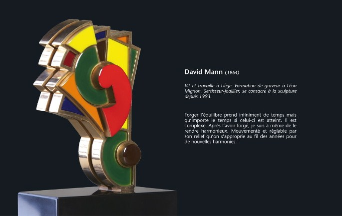 david mann sculpture biographie